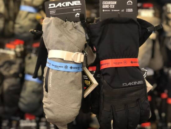 Gore-Tex Gloves and Mittens at Solitude Mountain Resort at Canyon Fever